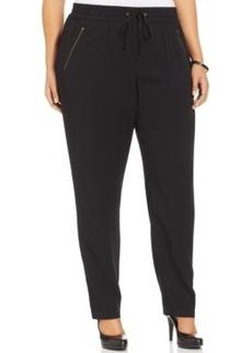 Style & co. Plus Size Zip-Pocket Straight-Leg Soft Pants