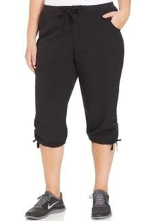 Style & co. Sport Plus Size Tie-Hem Capri Soft Pants