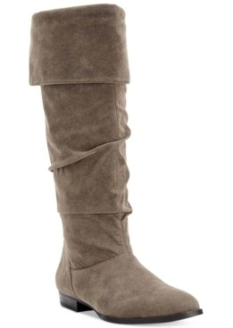 style co style co tiriza slouchy wide calf boots only