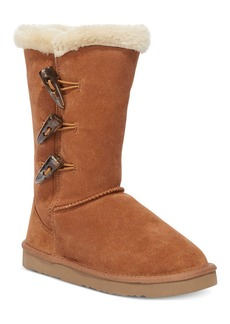 Style&co. Bella Toggle Faux Fur Cold Weather Boots