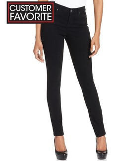 Style&co. Curvy-Fit Skinny Jeans, Black Wash