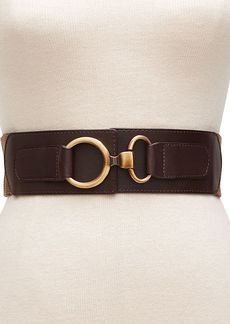 Style&co. Herringbone Interlock Stretch Waist Belt