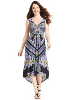 Style&co. High-Low Empire Maxi Dress