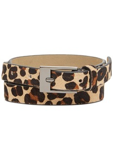 Style&co. Leopard Haircalf Belt