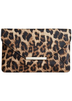 Style&co. Leopard Lily Envelope Clutch