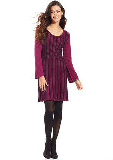 Style&co. Long-Sleeve Ribbed-Knit Sweaterdress