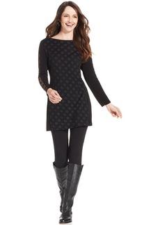 Style&co. Long-Sleeve Semi-Sheer Tunic