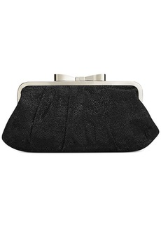 Style&co. Pat Bow Frame Clutch