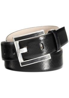 Style&co. Plus Size Patent Saffiano Pant Belt