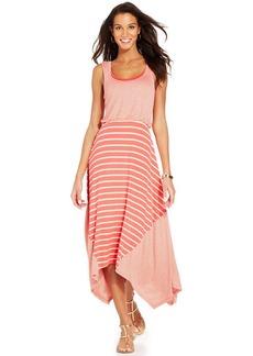 Style&co. Petite Layered Striped Maxi Dress