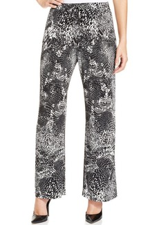 Style&co. Petite Printed Drawstring Pants