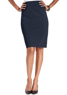 Style&co. Petite Pull-On Ponte-Knit Pencil Skirt