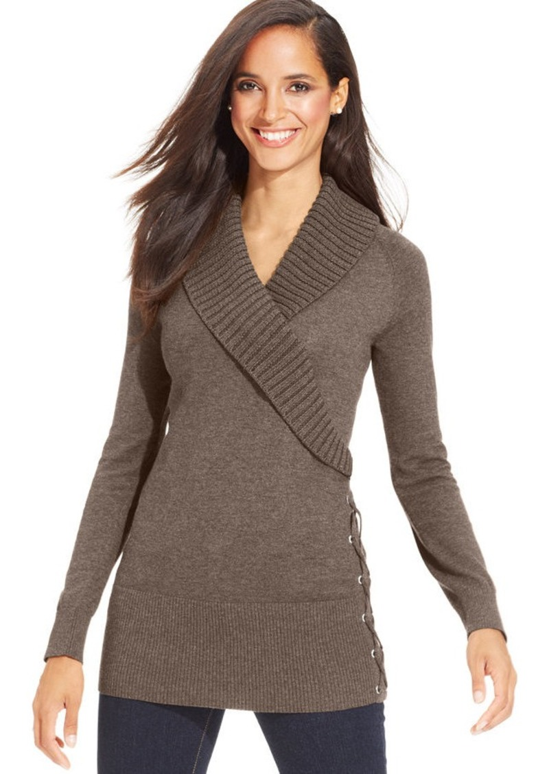 Shop for and buy style co. sweaters online at Macy's. Find style co. sweaters at Macy's. Macy's Presents: The Edit- A curated mix of fashion and inspiration Check It Out. Free Shipping with $75 purchase + Free Store Pickup. Contiguous US. Style & Co Sweater Blazer, Created for Macy's.