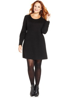 Style&co. Plus Size Babydoll Sweater Dress