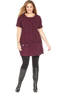 Style&co. Plus Size Cable-Knit Sweater Tunic