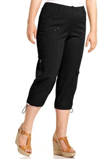 Style&co. Plus Size Cargo Capri Pants
