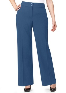 Style&co. Plus Size Solid Wide-Leg Pants