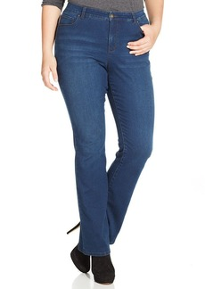 Style&co. Plus Size Tummy Control Jeans, Inkwell Wash