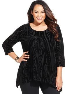 Style&co. Plus Size Velvet Tunic