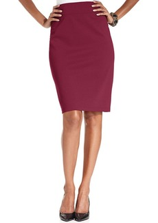 Style&co. Pull-On Ponte-Knit Pencil Skirt