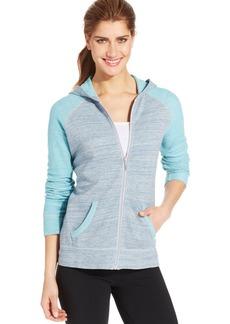 Style&co. Sport Petite Colorblocked Hoodie Jacket