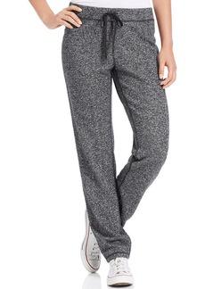 Style&co. Petite Heathered Skinny Lounge Pants