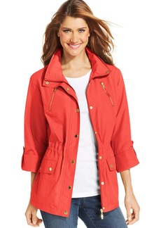 Style&co. Sport Zip-Pocket Hooded Anorak