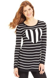 Style&co. Striped Heart Tunic