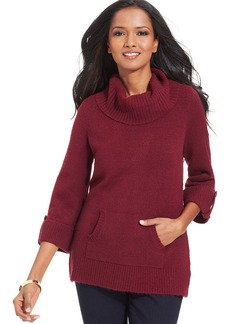 Style&co. Textured Turtleneck Sweater