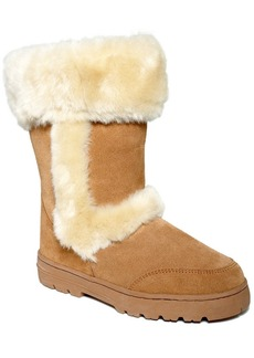 Style&co. Witty Faux-Fur Cold Weather Boots