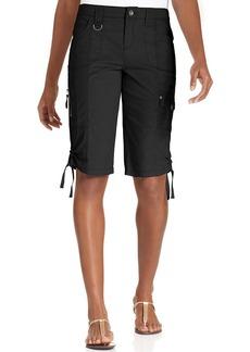 Style&co. Zip-Pocket Tummy Bermuda Shorts
