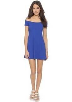 Susana Monaco Abigail Off Shoulder Flare Dress