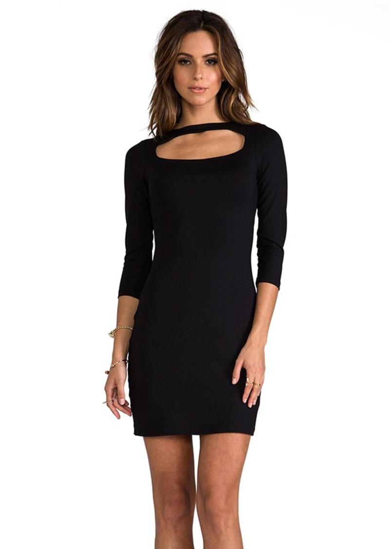"""Susana Monaco Berenice 20"""" Dress in Black"""
