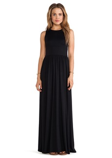 Susana Monaco Blaire Open Back Maxi Dress