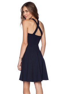 Susana Monaco Cross Flare Dress