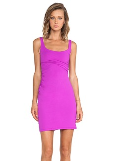 Susana Monaco Cross Gather Tank Dress