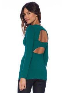 Susana Monaco Cut Out Back Top