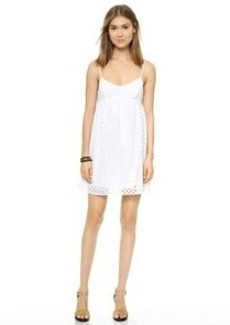 Susana Monaco Eyelet Embroidered Dress