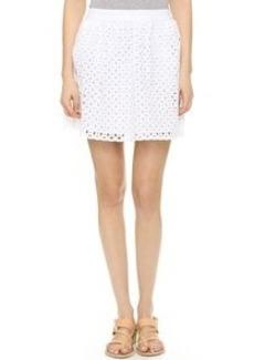 Susana Monaco Eyelet Jenn Skirt