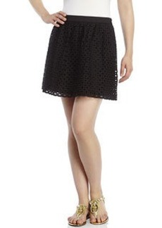 SUSANA MONACO Eyelet Mini Skirt