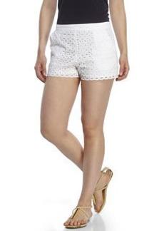 SUSANA MONACO Eyelet Shorts