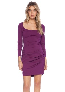 Susana Monaco Gather Sleeve Dress