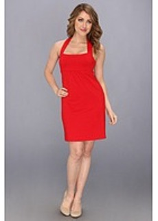 Susana Monaco Gathered High Back Dress S14A3262