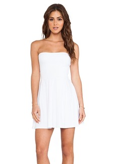 Susana Monaco Harlow Strapless Dress in White