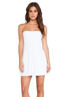 Susana Monaco Harlow Strapless Dress in White