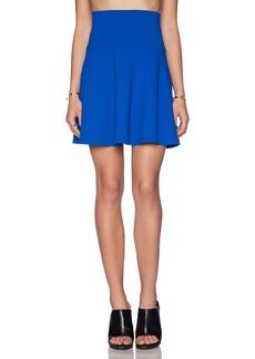 Susana Monaco High Waist Flare Skirt