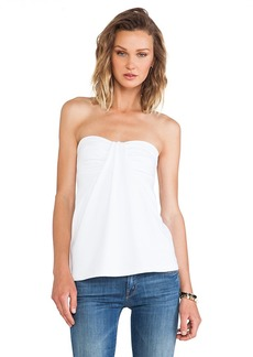 Susana Monaco Kai Strapless Top in White