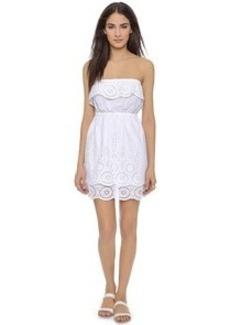 Susana Monaco Kat Strapless Eyelet Dress