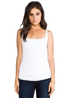 Susana Monaco Light Supplex Adalynn Tank in White