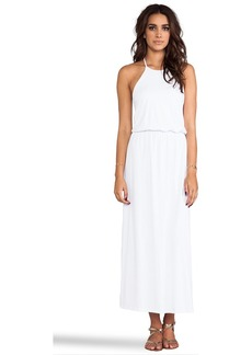 "Susana Monaco Light Supplex Arya 40"" Dress in White"